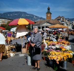 Grandma Wetzler in Switzerland