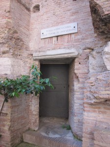 Ancient doorway in Rome